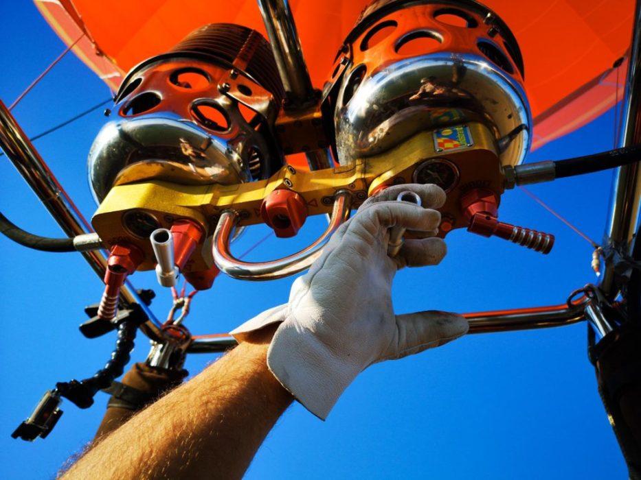école française d'aérostation - formation pilote de montgolfière matériel
